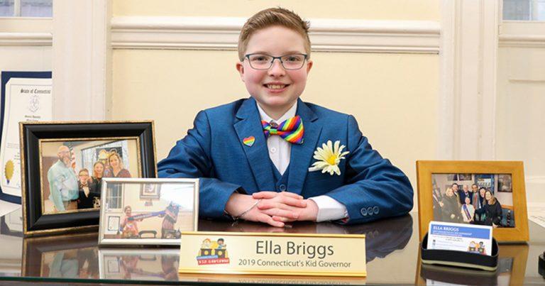Ella Briggs como presidenta