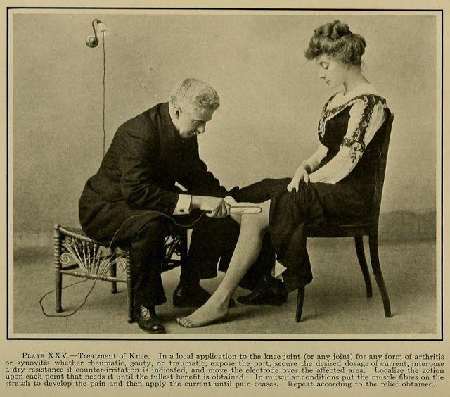 electroterapia primer vibrador