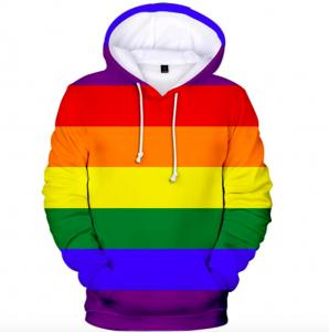 Sudadera unisex arcoiris LGTB