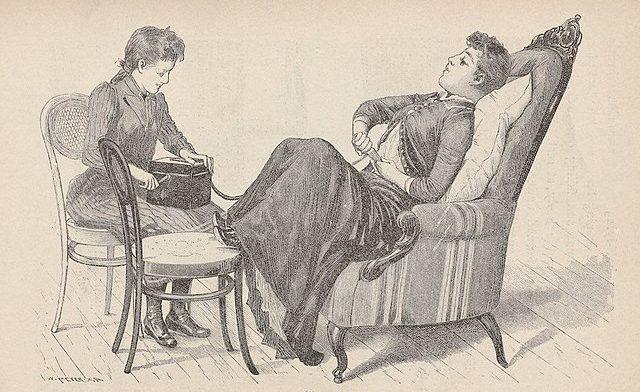 histeria femenina vibrador